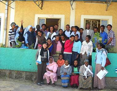 Training for Kindergarten and Primary School Teachers in Etiopia